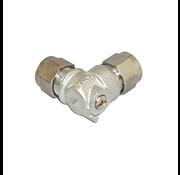 Plieger kogelafsluiter haaks knel 12x10mm