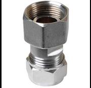 Plieger 2-delige gaskoppeling knel M24 x 15mm Knel
