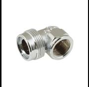 """Plieger Plieger comfort aansluitnippel haaks 3/8"""" x M24"""