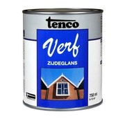 Tenco TencoVerf Waterbasis Dekkend Zijdeglans Cremewit RAL 9001 - 0,25L