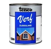 Tenco TencoVerf Waterbasis Dekkend Zijdeglans Zwart RAL 9005 - 0,25L