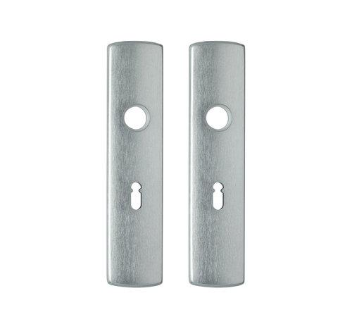 Axa Deurschild Binnendeur Kruk-Sleutel Geslepen 55mm SL56
