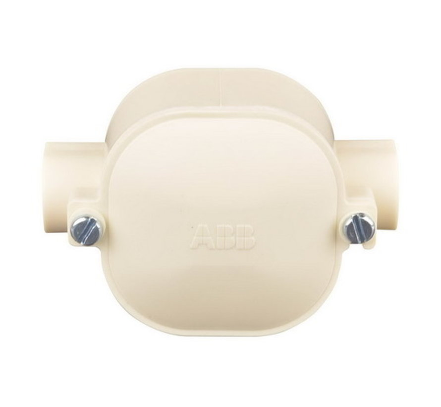 ABB Middendoos + Deksel Creme 4202-D