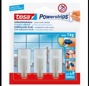 Tesa Tesa Powerstrips Haak 1,4 x 3,4cm - 3 Stuks