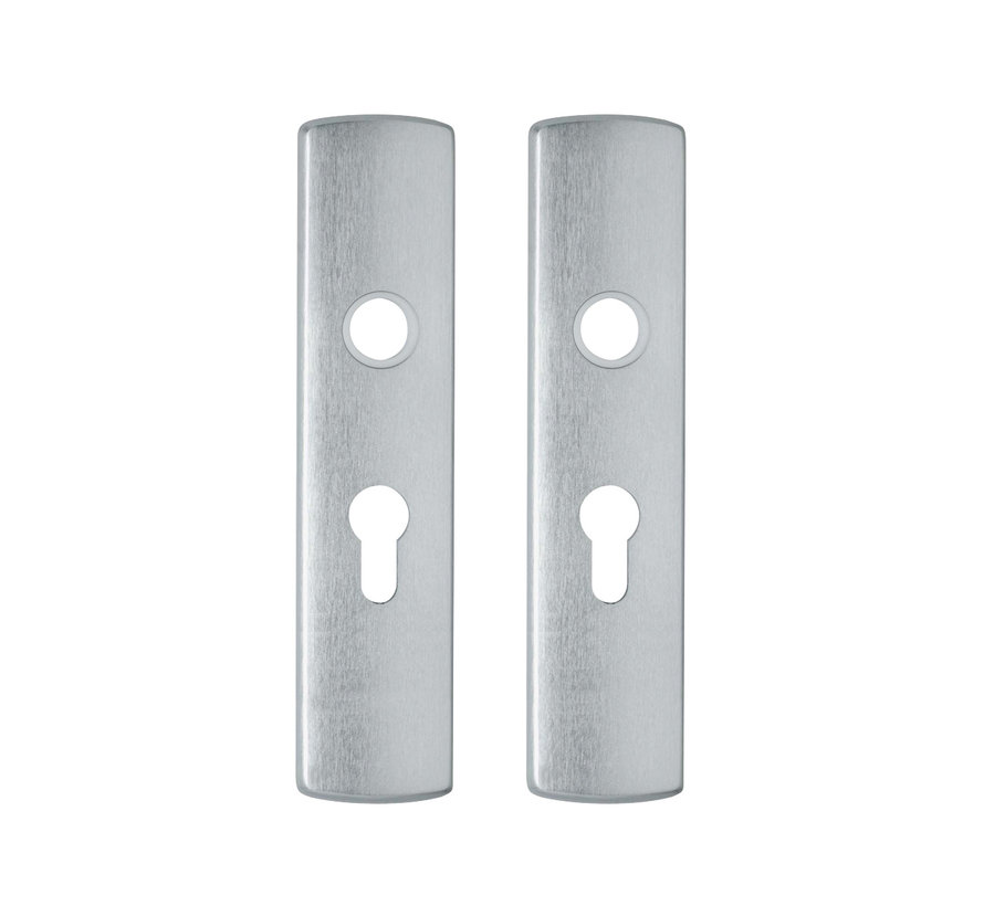 Deurschild Binnendeur Kruk-Cilinder 55mm PC55 Klik