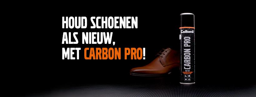 Schoenen beschermen met Carbon Pro