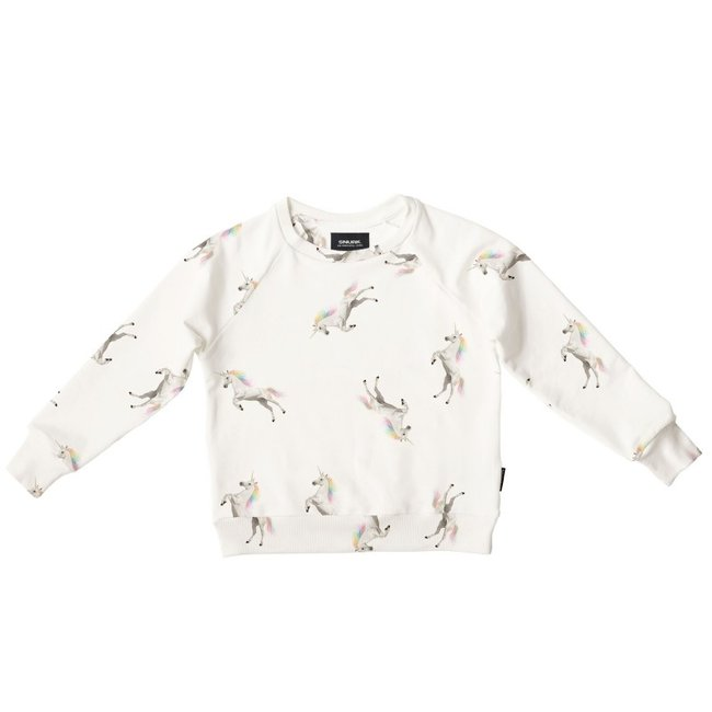 SNURK Snurk Sweater Unicorn White