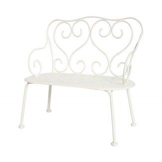 Maileg Maileg Romantic bench (Off White)