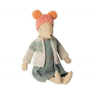 Maileg Maileg Winter Mouse Medium Girl
