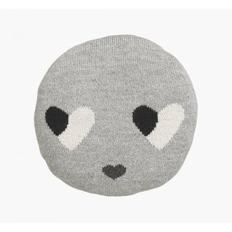 LuckyBoySunday LuckyBoySunday Sweetheart Chair Pillow Grey