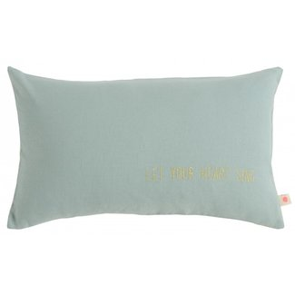 La Cerise Sur Le Gateau La Cerise Sur Le Gateau Cushion cover - Lina Sing, Iode