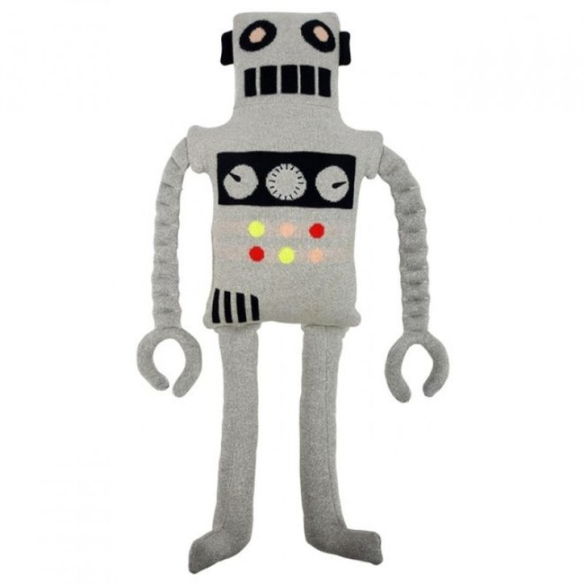 Meri Meri Meri Meri Party - Knitted Toy - Ziggy Robot - 70cm
