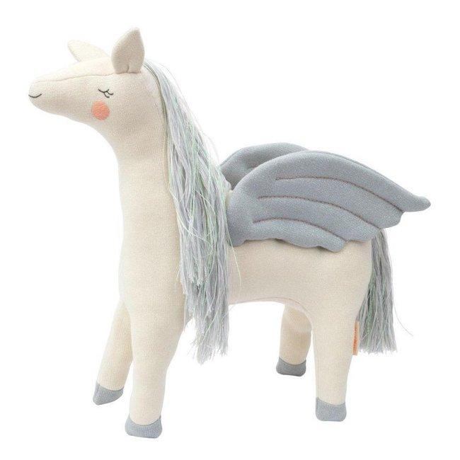Meri Meri Meri Meri - Knitted Toy - Chloe Pegasus - 49 cm
