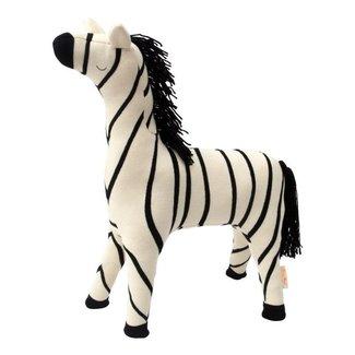 Meri Meri Meri Meri - Knitted Toy - Zebra - 49cm