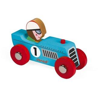 Janod Janod Story Racing retromotor blauw