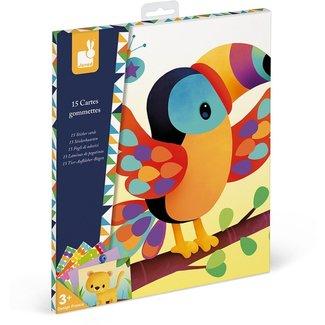Janod Janod Atelier - Stickers plakken dierenkaarten