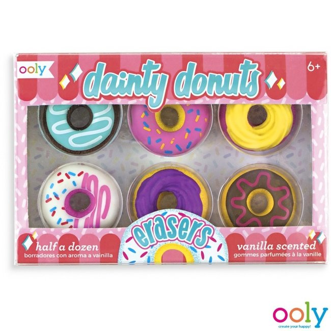 Ooly Ooly Erasers with scent - Donuts