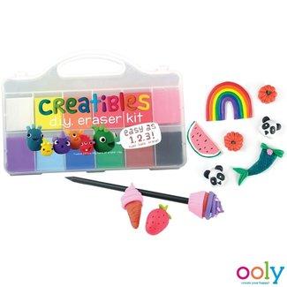 "Ooly Ooly Kneading Eraser Set ""Creatibles"""
