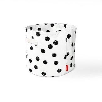 Deuz Deuz Storage Basket Black & White