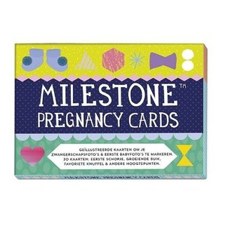 Milestone Cards Milestone Pregnancy Cards Nederlandse Versie
