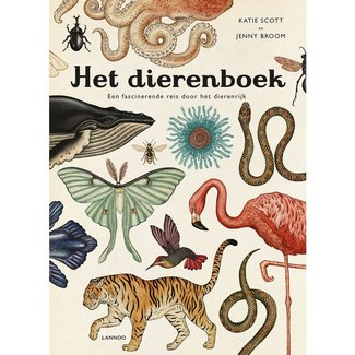 Lannoo The Animal Book - Jenny Broom & Katie Scott (Dutch)