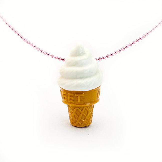 Pop Cutie Pop Cutie necklace soft ice cream