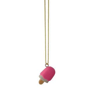 Pop Cutie Pop Cutie necklace little ice cream pink