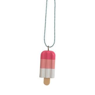 Pop Cutie Pop Cutie necklace ice cream pink