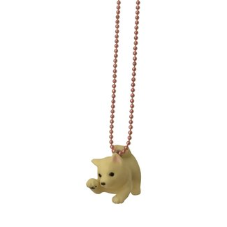 Pop Cutie Pop Cutie necklace dog white
