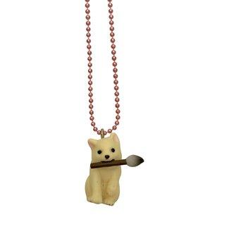Pop Cutie Pop Cutie necklace dog with tassel