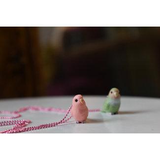 Pop Cutie Pop Cutie necklace bird pink