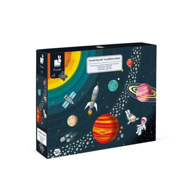 Janod Janod puzzel Cosmos - 5+ jaar - 100 stukjes