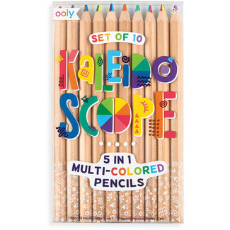 Ooly Ooly set of 10 Kaleidoscope colored pencils