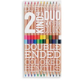Ooly Ooly tweezijdige potloden - set van 12