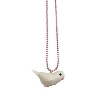 Pop Cutie Pop Cutie necklace bird white