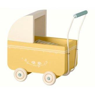 maileg maileg wooden stroller