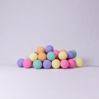 Cotton ball lights Candy