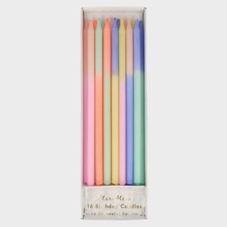 Meri Meri Meri Meri Birthday candles colorblock