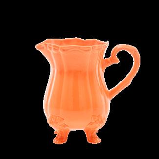 rice Ceramic Jug Tangerine