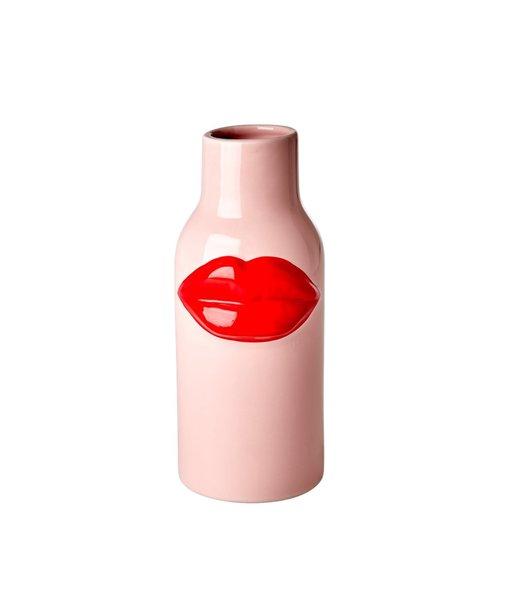 Rice Vase Red  Lips Large