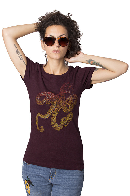 Octopus T-shirt - Fitted