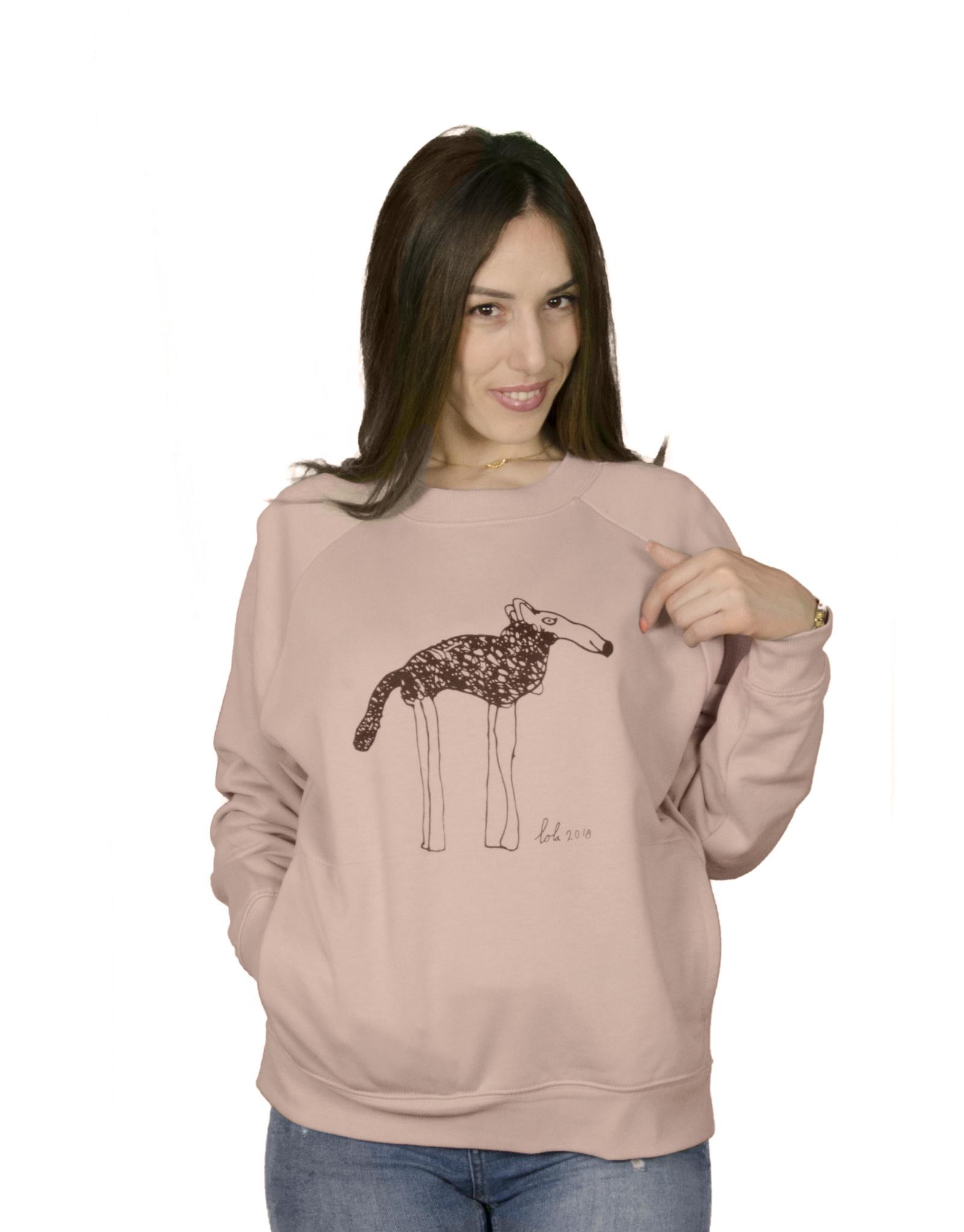 Shepherd High Collar Sweater With Pockets