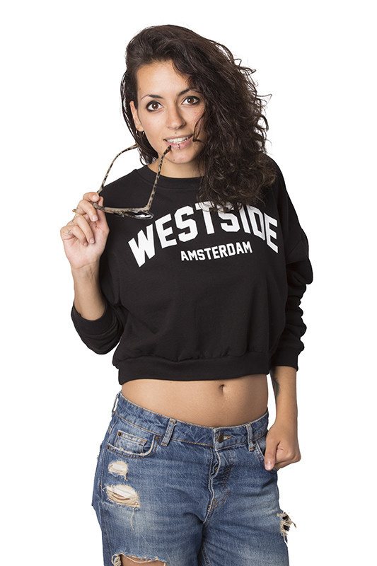 Westside Cropped Sweater