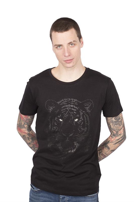 Zwarte Tijger T-shirt