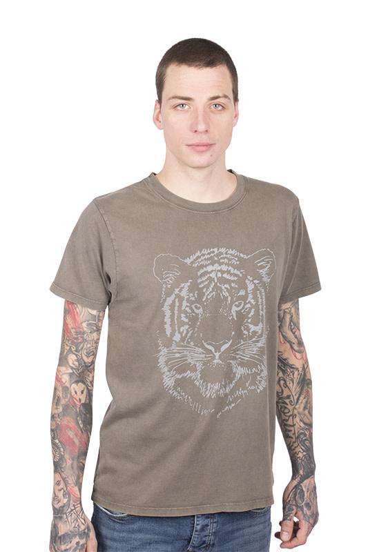 Zwarte Tijger T-shirt - Jersey
