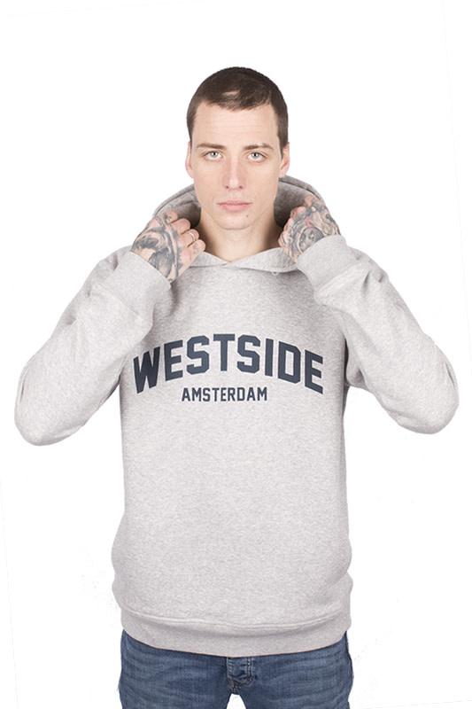 Westside Amsterdam Hoodie - Heather Grey