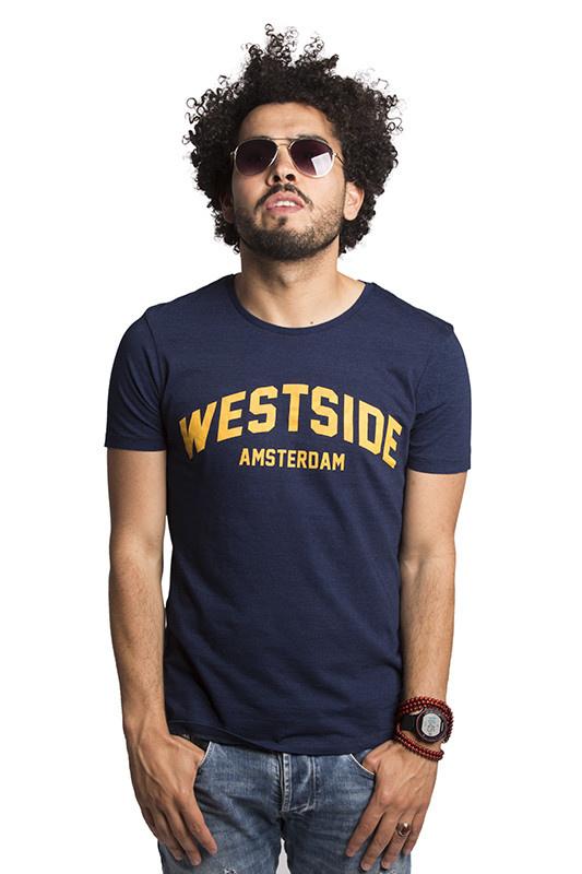 Westside Amsterdam T-shirt - Denim