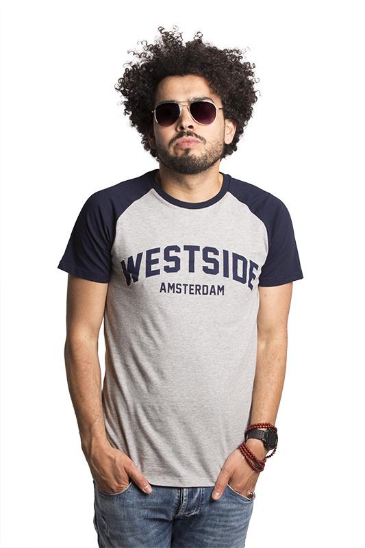 Westside Unisex Baseball T-shirt