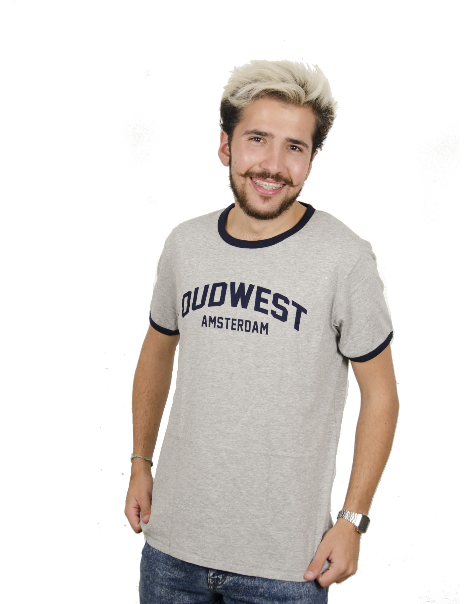 Oud-West Amsterdam T-shirt - Contrast