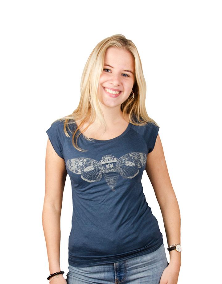 Cicada T-shirt - Bamboo